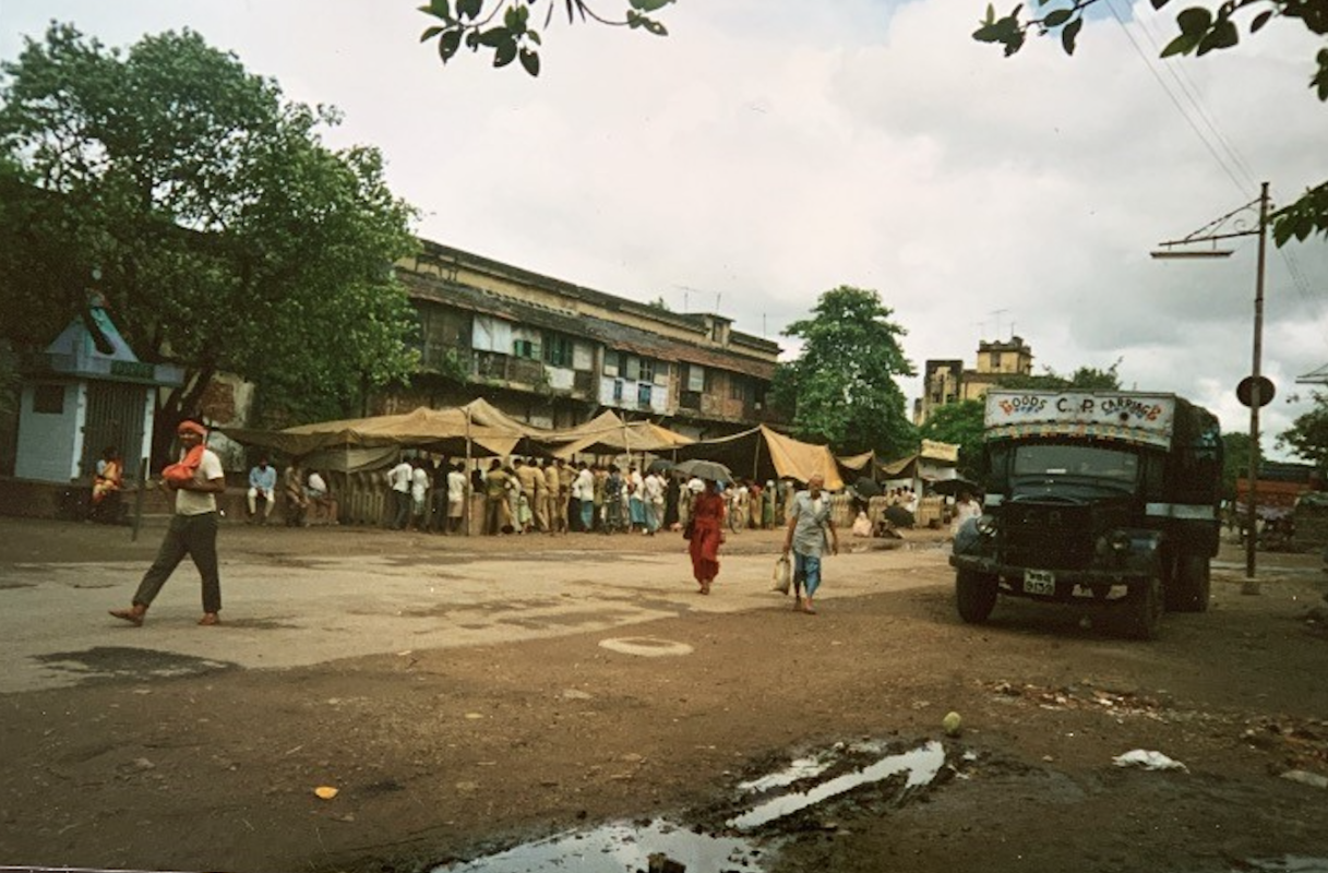 Calcutta Rescue Fund Street Clinic 1993